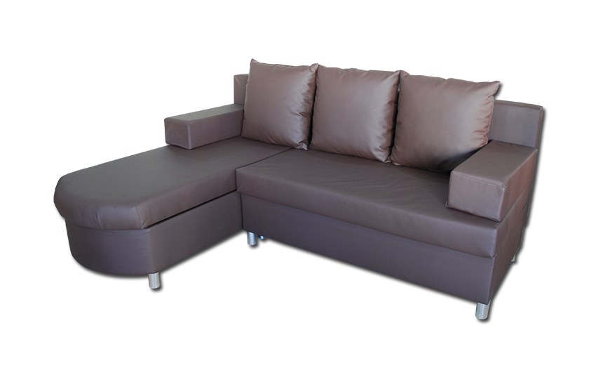 Faro sofa bed l shape storage index furniture for Sofa bed 5ft
